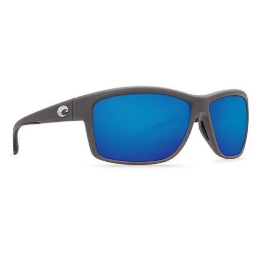 Costa Del Mar Mag Bay Polarized Matte Gray Sunglasses - AA-98-OBMGLP