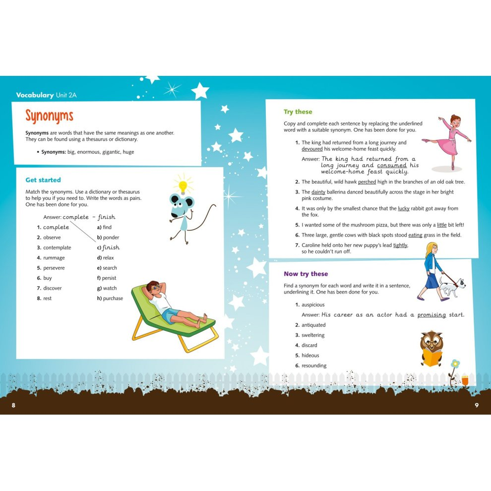 Vocabulary, Grammar and Punctuation Skills Pupil Book 6 (Treasure House)