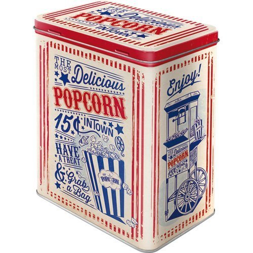 Nostalgic Art 30144, USA, Popcorn, Storage Container L