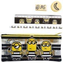 DESPICABLE ME 3 | Minion Filled Pencil Case Set