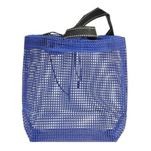 Hiking Quick Dry Mesh Shower Accessories Bag Breathable Bath Tote-Blue