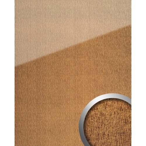 WallFace 20214 CURVED Gold AR+ Design panelling glass look gold 2.6 sqm