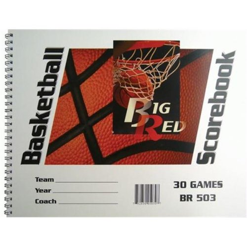 Olympia Sports BK030P 9.25 in. x 12 in. Basketball Scorebooks