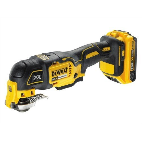 DeWalt DCS355D1 XR Brushless Oscillating Tool 18 Volt 1 x 2.0Ah Li-Ion