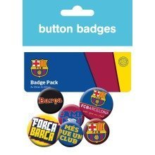 Barcelona Crests Badge Pack