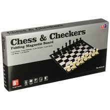 "Magnetic 14"" Folding Board Chess"