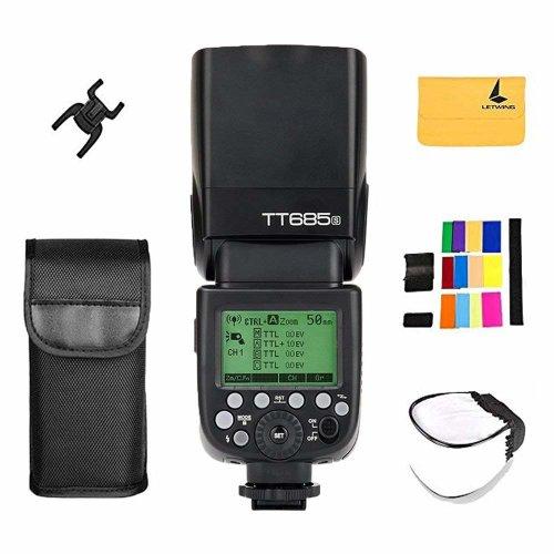 Godox Thinklite TT685S TTL Camera Flash High Speed HSS 1/8000s GN60 Speedlite for Sony a77II a7RII a7R a58 DSLR Cameras