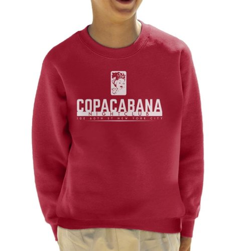 Copacabana Nightclub Goodfellas Kid's Sweatshirt