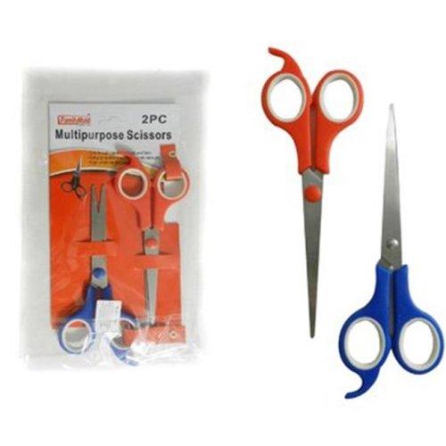 DDI 2315174 2 Piece Multipurpose Scissors, Case of 24