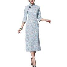 Elegant Oriental Cheongsam Qipao Chinese Style Costume Dresses, #10