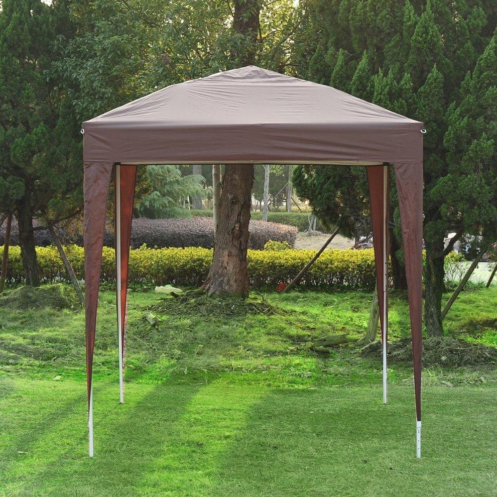 outsunny pop up garden gazebo 2 x 2m on onbuy. Black Bedroom Furniture Sets. Home Design Ideas