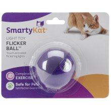 SmartyKat FlickerBall Electronic Light Toy-