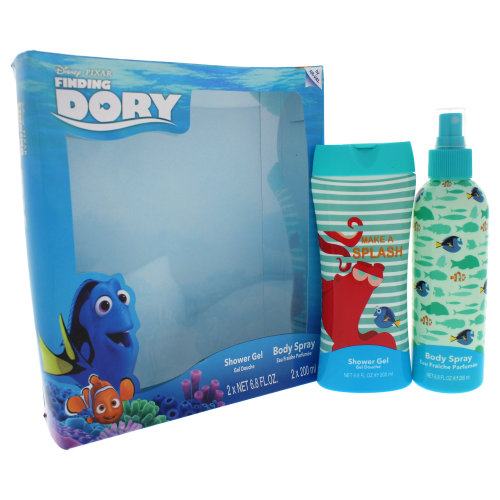 Disney Finding Dory - 2 Pc Gift Set 6.8oz Body Spray, 6.8oz Shower Gel