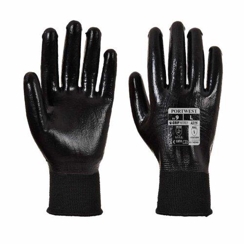 sUw - All-Flex Grip Nitrile Work Glove (1 Pair Pack)