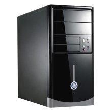 1015BS Series Black MicroATX Case 500W PSU
