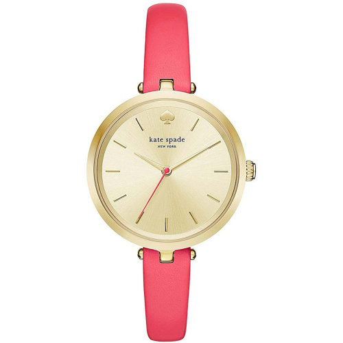 Kate Spade KSW1135 Ladies Holland Gold-Tone Stainless Steel Case Watch