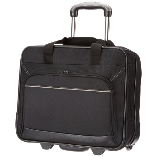 """AmazonBasics Rolling Laptop Case on Wheels - Fits Most Laptops up to 16"""""""