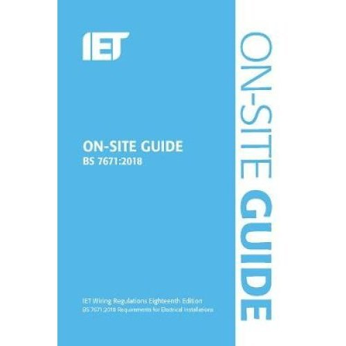 On-Site Guide (BS 7671:2018)
