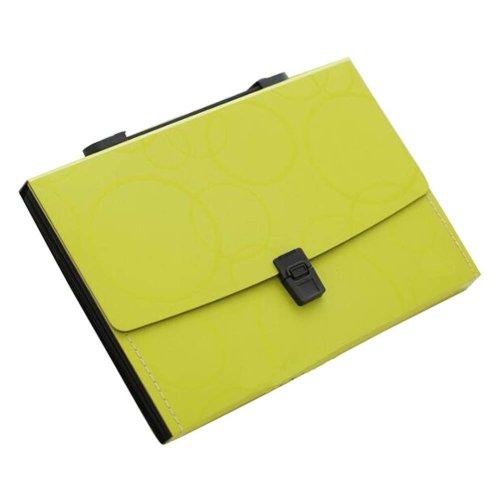 13 Pockets Portable File Holder A4 Document Organizer Information Bag-G