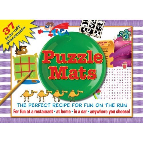 Puzzle Mats for Kids by Editors of Publications International LTD (2011) Perfect Paperback