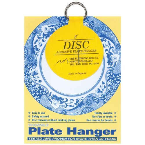 "Invisible Plate Hanger 2""-For Plates Up To 6"" Diameter"