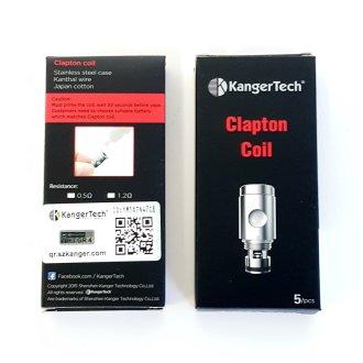 KangerTech Coil Clapton 0.5? 5pk