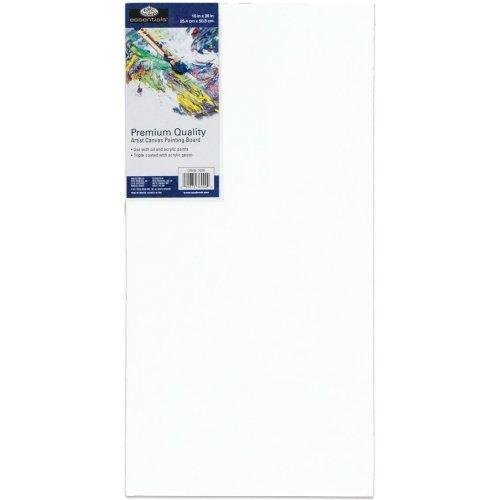 """essentials(TM) Premium Canvas Board-10""""X20"""""""