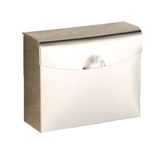 Bathroom Tissue Holder/Toilet Paper Holder,Stainless Steel,big,thicken,silvery