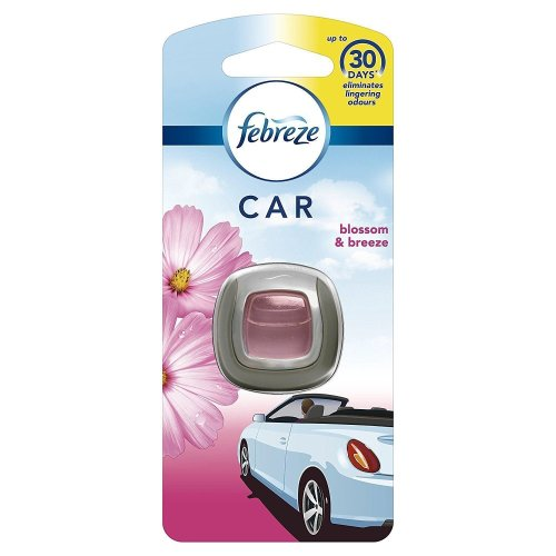 Febreze Blossom & Breeze Scented Car Air Freshener Vent Clip-On 3-Day Kit