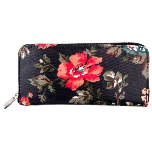 Vintage Style Floral Clutch Purse