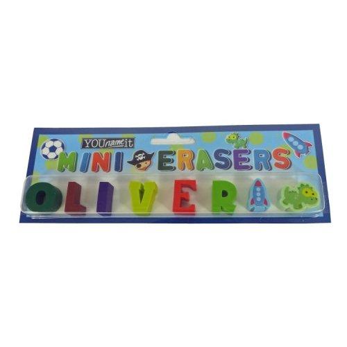 Childrens Mini Erasers - Oliver
