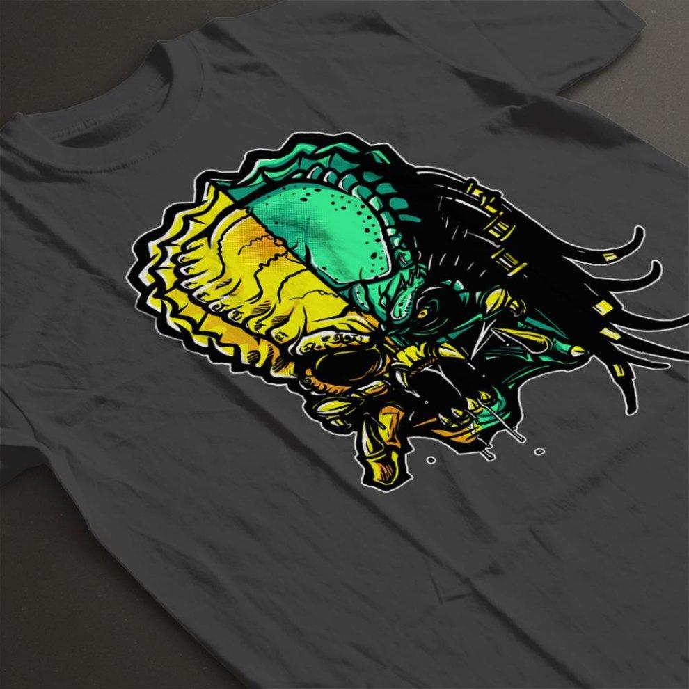 05bd4036 Cranium Alien Vs Predator Men's T-Shirt on OnBuy