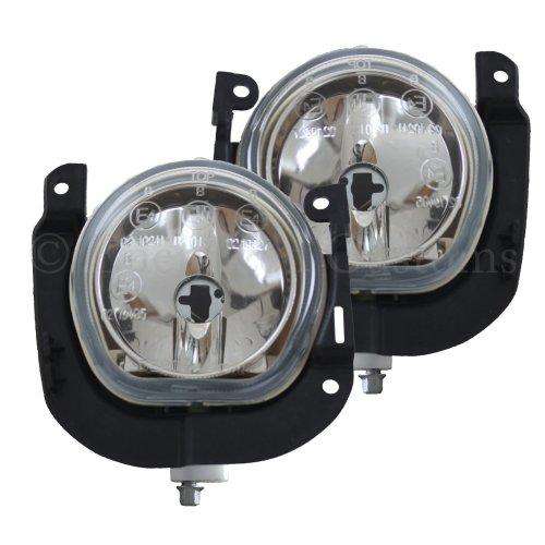 Citroen Nemo 2008-> Front Fog Light Lamps 1 Pair O/s & N/s