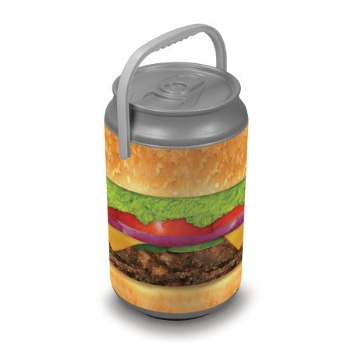 Oniva A Picnic Time Brand Mega Insulated Can Cooler Burger