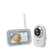 Vtech Safe & Sound White Noise Video Baby Monitor Bm4400