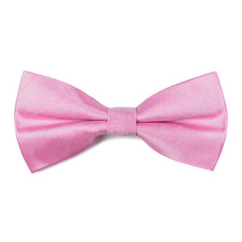 Candy Pink Shantung Bow Tie #AB-BB1005/16