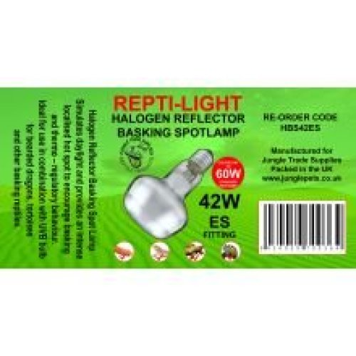 Jungle Trade Supplies Reptile Halogen Reflectors Es (42w)