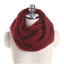 Knitted Collar Scarves Warm Neck Scarves