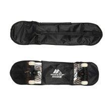 Waterproof Skateboard Bag & Thickening Backpack & Equipment Bag Black