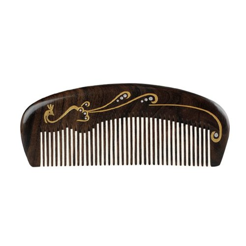 Natural Wooden Comb/Best Choice Of Gift Giving/Chinese Style(Chacate Preto)