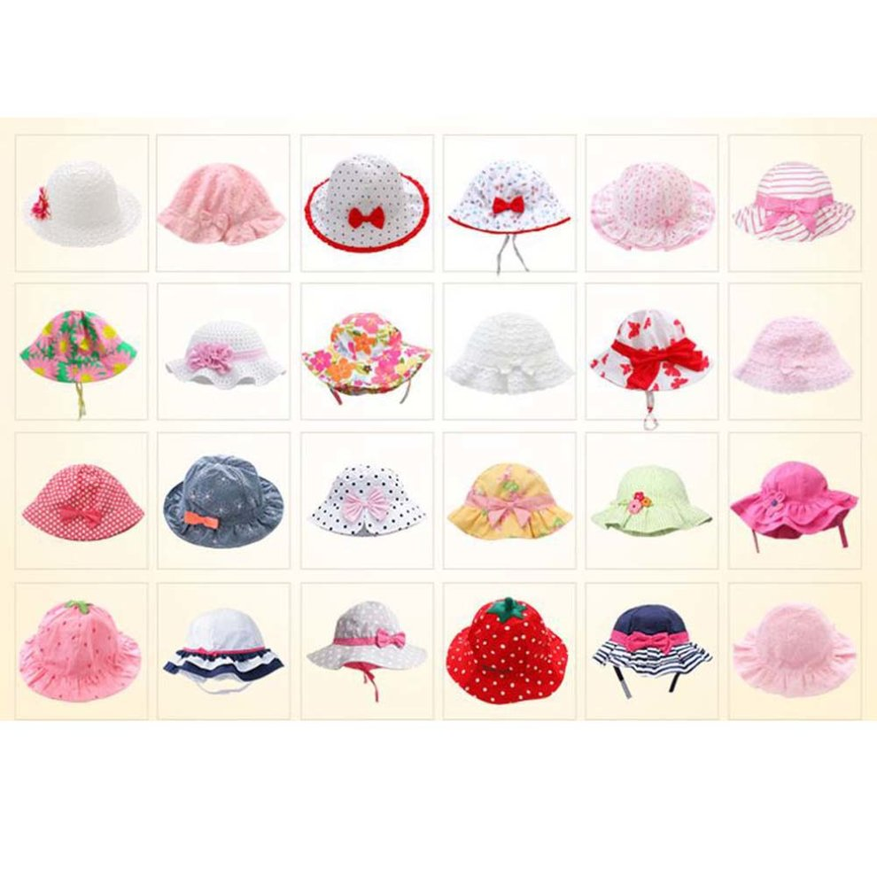 Baby Girls Sun Hats Toddler Infant Hats Summer Cap Hat Great Gift ... df4aa81fcf92