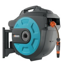 GARDENA Wall-mounted Hose Reel 25 Roll-up Blue 8023-20