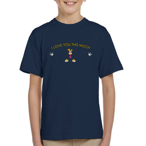 Rayman I Love You This Much Kid's T-Shirt