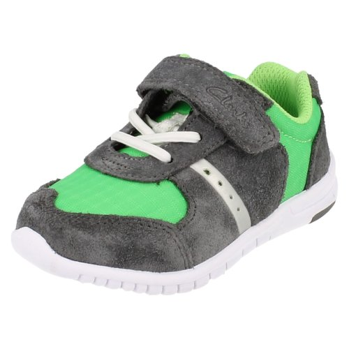 Boys Clarks Casual Trainers Azon Flex - G Fit