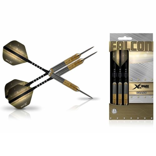 XQmax Darts Dart Set Falcon 3 pcs 21g Brass Steel QD1103160