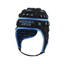 Kooga Airtech Loop Ii Head Guard - Black/blue, Medium - Head Black Blue Adult -  kooga airtech loop ii headguard black blue adult medium