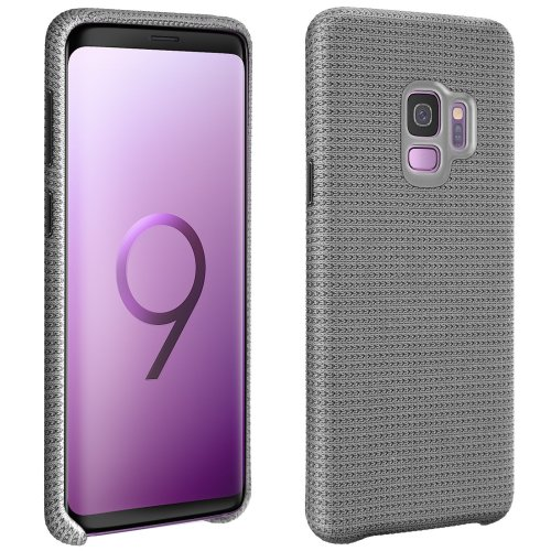 Official Samsung hyperknit cover Backcover for Samsung Galaxy S9 - Grey
