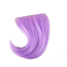 Colorful Wigs for Cosplay,Stage/Party Wig/Hair Bangs Wig, Light Purple