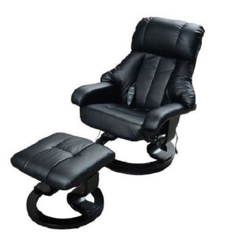 Homcom Recliner Massage Chair & Footstool