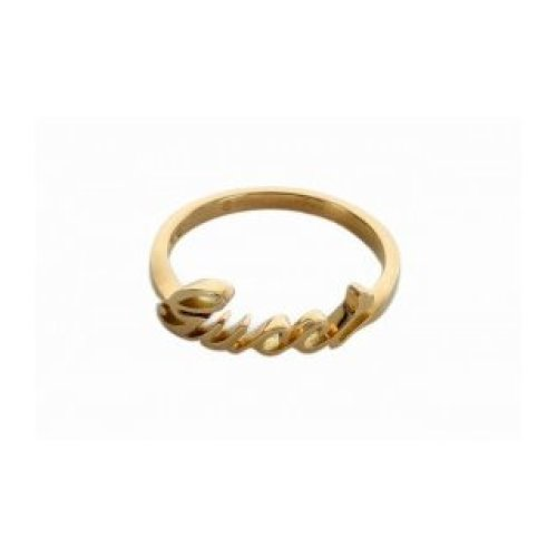 GUCCI RING GUCCI 18KT YELLOW GOLD MEASUREMENT 15 201955 J8500 8000